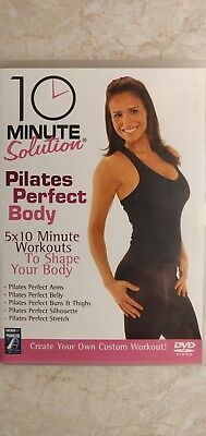 10 Minute Solution - Pilates Perfect Body (DVD, 2008)