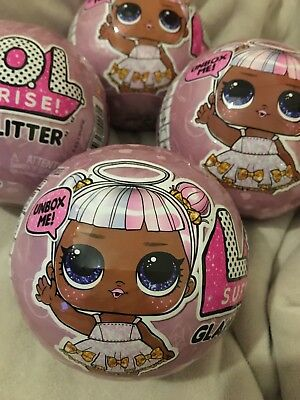 Lol Surprise Dolls Glam Glitter Brand New And Sealed X4