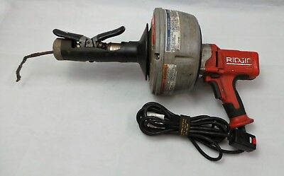 RIDGID Tools K-45 Drain Cleaning Machine w/ Autofeed & Inner Core Cable Snake