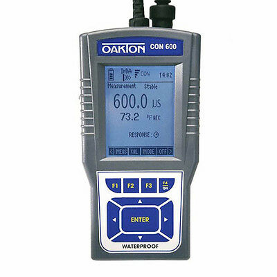 Oakton WD-35408-02 CON 600 Conductivity/TDS Meter Only