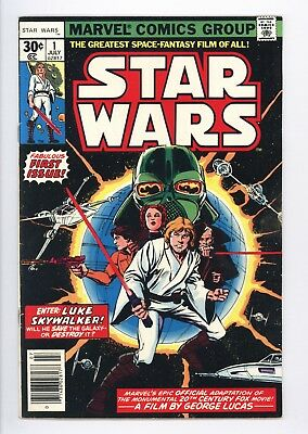Star Wars #1 Vol 1 Super High Grade A New Hope Movie Adaptation 1977