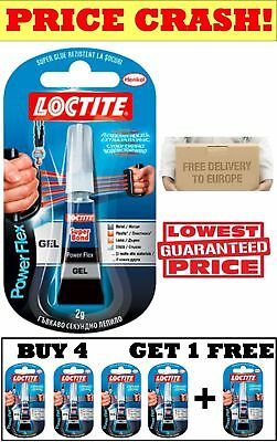 LOCTITE POWER FLEX GEL, SUPER GLUE, Adhesive, TUBE for Wood|Metal|Plastic|Glass