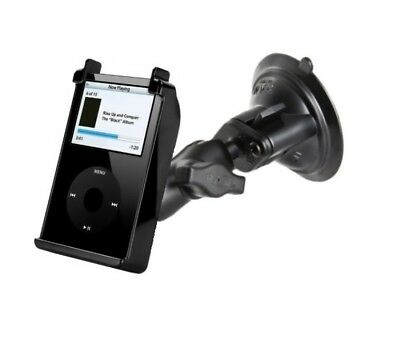 Short Arm Suction Cup Suv Mount fits Apple iPod 1st 2nd 3rd 4th 5th Generation