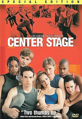 Center Stage Special Edition(DVD, 2000) Free Shipping!