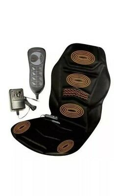 Massage Chair Thigh Nech And Back Heated For Office Car Home 10 Vibration New
