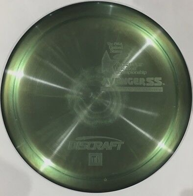 BEAUTIFUL Ti AVENGER SS DISC GOLF DRIVER - METALLIC GREEN - 170-172 G Ti6