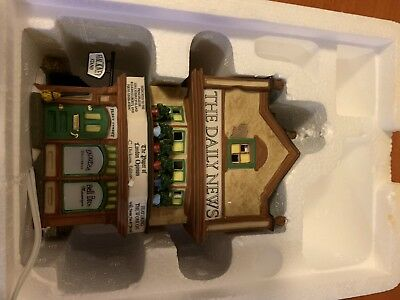"Dept 56 Dickens Village Series ""THE DAILY NEWS"", (Set of 2)  #56.58513"