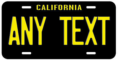 Personalized Custom California Vintage State License Plate Name Novelty Car Tag