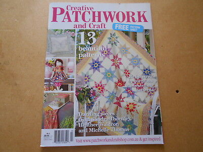 Creative Patchwork And Craft Magazine No. 4  - Good Condition -