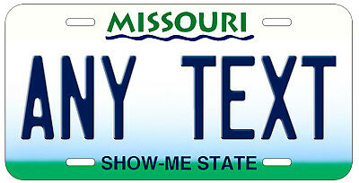 Personalized Custom Missouri State License Plate Any Name Novelty Auto Car Tag