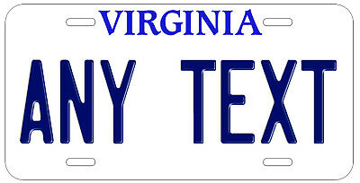 Personalized Custom Virginia State License Plate Any Name Novelty Auto Car Tag