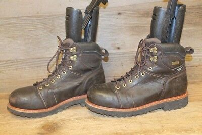 7a8cfa5dd2a IRISH SETTER RED Wing Hammerhead Mens Brown Lace Up Leather Work Boots Sz 9  D