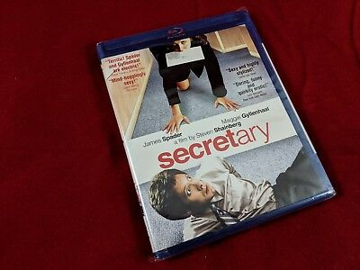 Secretary Maggie Gyllenhaal James Spader (Blu-ray Disc, 2010) NEW SEALED