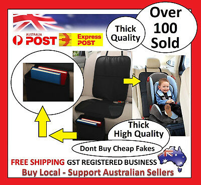 Extra Large Car Baby Seat Protector Cover Cushion Anti-Slip Waterproof Safety