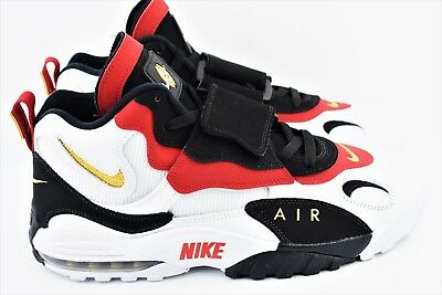 timeless design b4c52 ace6e NIKE AIR MAX Speed Turf 49ers 2018 Mens Size 12 Shoes 525225 101 White Black