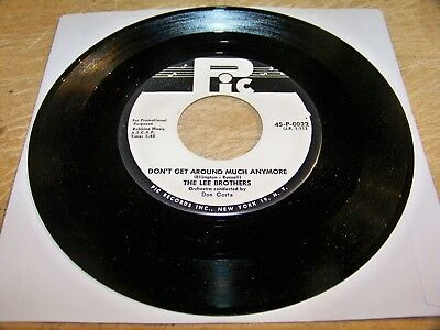 The Lee Brothers - Don't Get Around Much Anymore - Pic 45-P-0022  promo