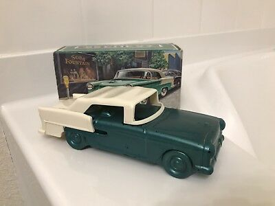 Vintage Avon '55 Chevrolet Automotive Collectable Wild Country Aftershave W/ Box
