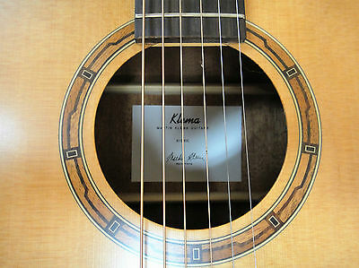 4/4 Klema K100DC Solid Top Dreadnought Acoustic Guitar+Padded Soft Case, Strings
