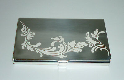 Christofle Sterling Business Card Holder. Marly Tech