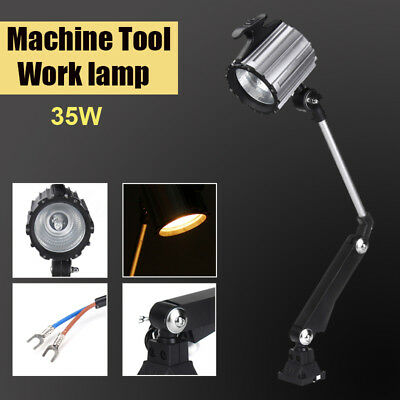 CNC Machine Halogen Lamp Working Tool Light Swing Arm 35W 110-220V Warm White