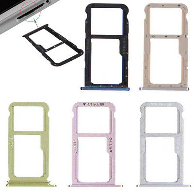 Nano SIM & Micro SD Memory Card Holder Tray Adapter Slot Replacement For Huawei