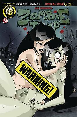 ACTION LAB ENTERTAINMENT ZOMBIE TRAMP ONGOING #46 CVR F MENDOZA RISQUE MR