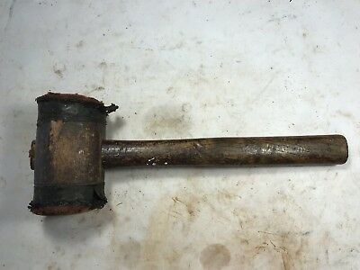Old Timber Mallet Old Carpenter's Tool