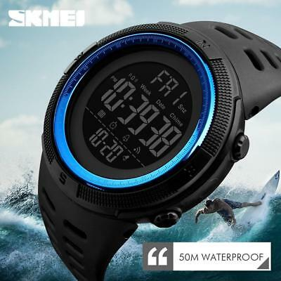 SKMEI Fashion Men's Smart Watches Bluetooth Digital Sport Wrist Watch Waterproof