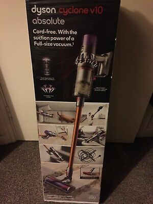 Dyson cyclone V10 absolute. New in box. UK plug.