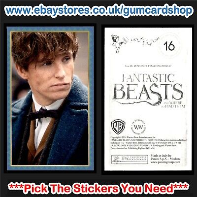Panini (Harry Potter) Fantastic Beasts & Where to Find Them (1 to 99) Select