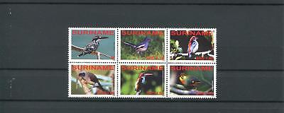 Suriname Mnh 2008 Birds 2067