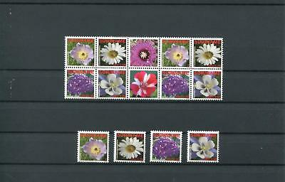 Suriname Mnh 2009 Flowers 2074