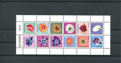 Suriname Mnh 2013 Flowers 2110