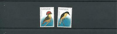 Suriname Mnh 2002 Birds 2021