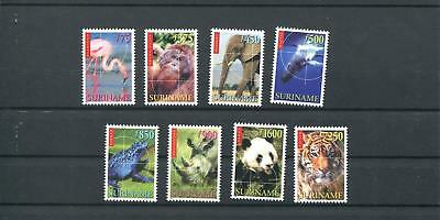 Suriname Mnh 1999 Animals 2010