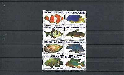 Suriname Mnh 2010 Fish 2082