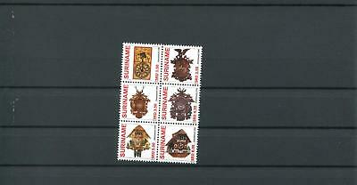 Suriname Mnh 2009 Clocks Art 2077