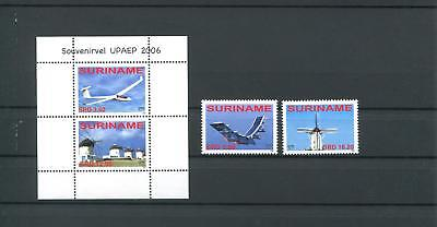 Suriname Mnh 2006 Aircraft Mill 2046
