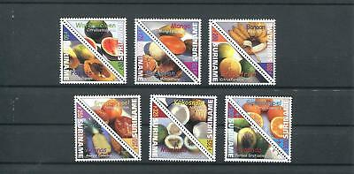 Suriname Mnh 2000 Fruits Triangle 2012