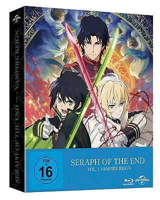 Seraph of the End: Vampire Reign Ep. 1-12 Vol. 1 Limited Premium Edition Blu Ray
