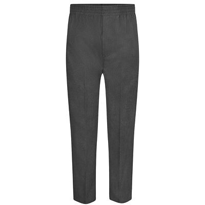 Boys Zeco Pull Up Trousers Full Elasticated Waist. From Age 2 to 16 Years