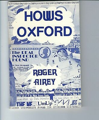 Roger Airey : HOWS OXFORD