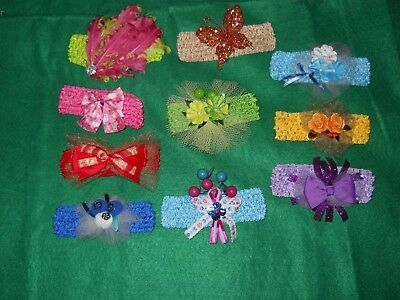 Headband   ~  Baby / Girls  Soft  Stretch  assorted styles and colors