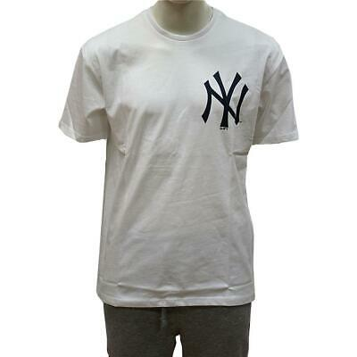 New Era Oversized XL Logo T-Shirt New York Yankees weiß MLB 2019