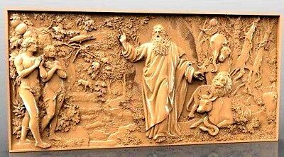 The Creation of the World 3D Model STL relief for cnc STL format 3D STL format