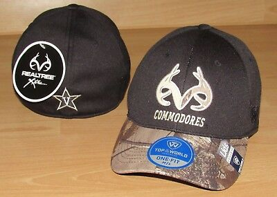 Vanderbilt Commodores Realtree Camo Antler Flex Fitted Hat M/L