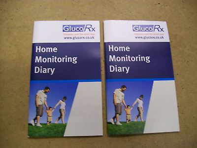 2 x gluco Rx home monitoring diary