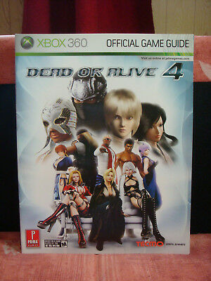Dead Or Alive 4 - Official Game Guide - PRIMA Games - englisches Lösungsbuch