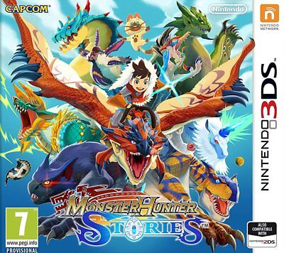 Monster Hunter Stories (3DS)  BRAND NEW AND SEALED - IN STOCK - QUICK DISPATCH