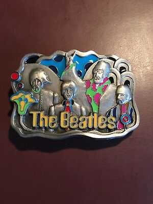 1994 American Legends Foundry THE BEATLES YELLOW SUBMARINE BELT BUCKLE vintage